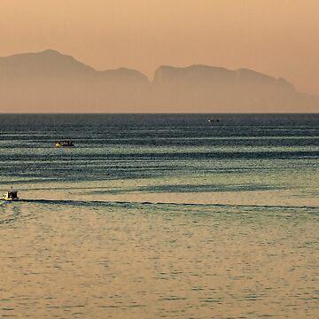 Aegean Fishing Boats by photograham