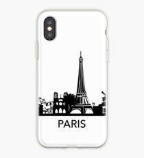 Paris cityline Art iPhone Case