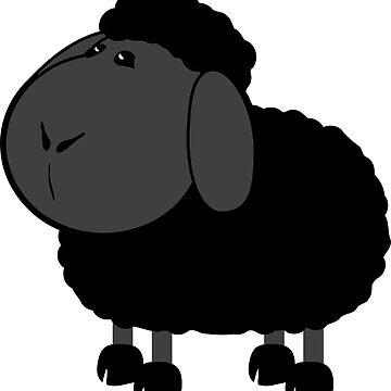 Doodle: Black Sheep by HarmonyByDesign