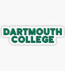 Dartmouth College University Sticker