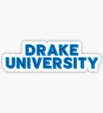 Drake University - Style 10 Sticker