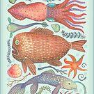 Marine Kreaturen I von Vlad Stankovic