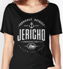 Detroit Become Human - Jericho - Kara, Markus and Conner - Dark shirt version Women's Relaxed Fit T-Shirt