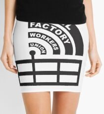 Troll Factory Workers Union Mini Skirt