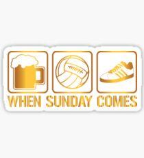 When Sunday Comes Ultras Casuals Sticker