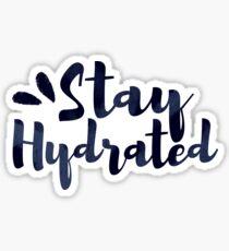 STAY HYDRATED!! Sticker