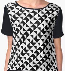 BW Tessellation 6 7 Chiffon Top
