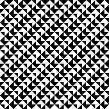 BW Tessellation 6 8 by paddysbooks