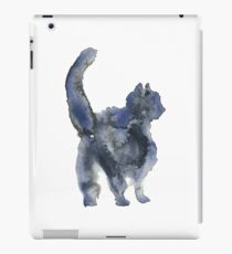 Shameless Cats:  Silhouette Black Cat iPad Case/Skin