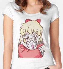 Sailor Venus and Artemis Women's Fitted Scoop T-Shirt