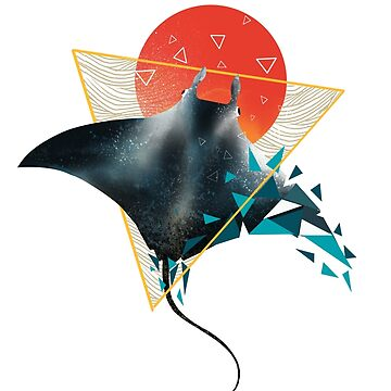 Geometric Sting Ray by dandingeroz