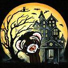 Spooky House by Shelly  Mundel