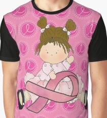 Breast Cancer Girl  Graphic T-Shirt