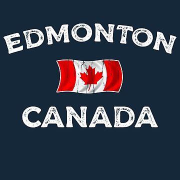 Edmonton Canada Waving Canadian flag by dk80