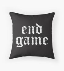 End Game, Rep, Big Reputation Throw Pillow