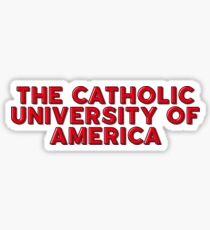 The Catholic University of America Sticker