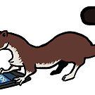 Phone Weasel by skogul