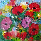 Wild poppies by Karin Zeller