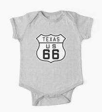 Texas Route 66 Kids Clothes