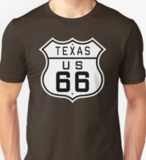 Texas Route 66 T-Shirt