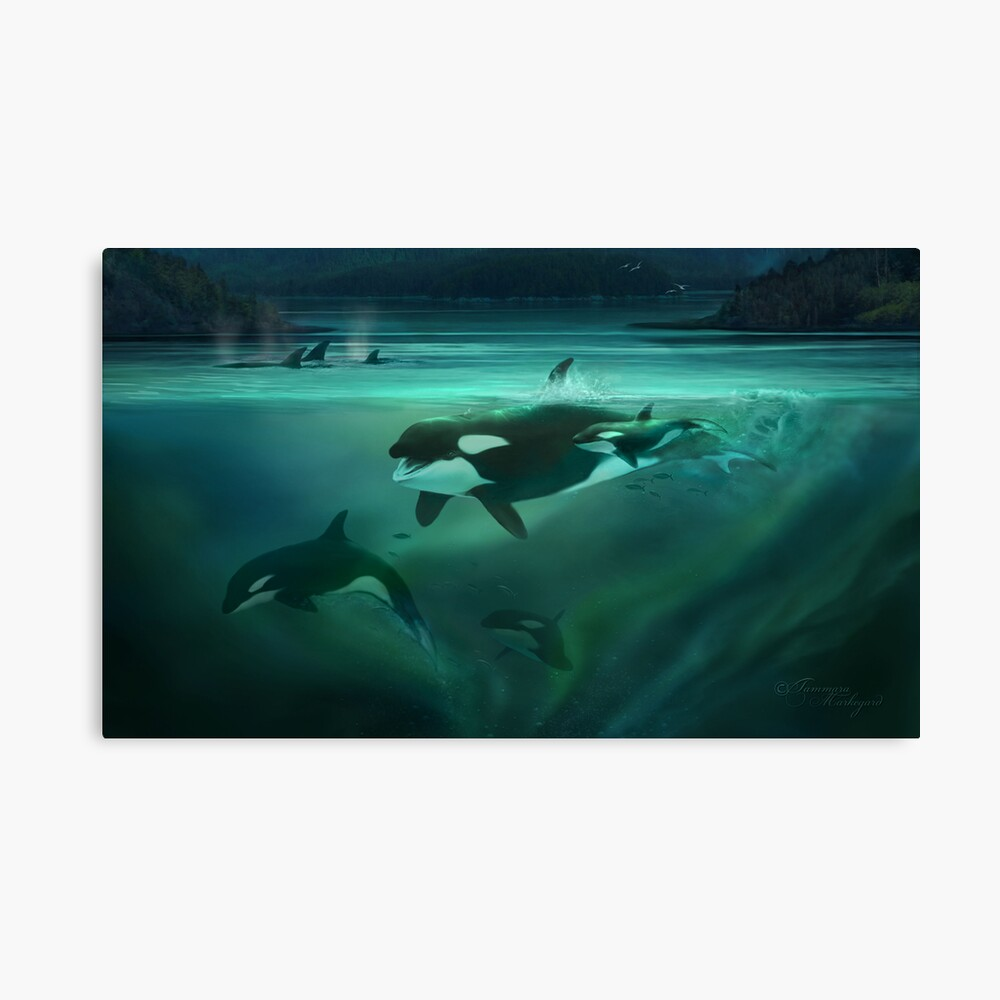 Call of the Matriarch Canvas Print