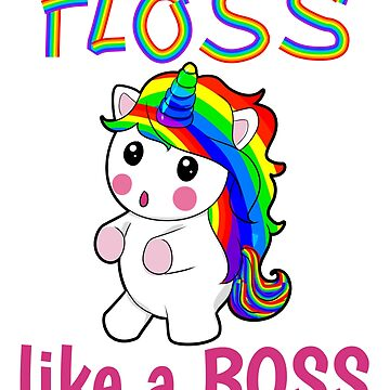 floss like a boss Unicorn by Moonpie90