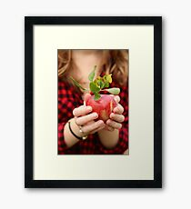 Red, Red Apple Framed Print