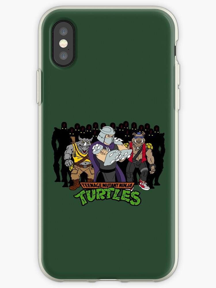 TMNT - Foot Soldiers with Shredder, Bebop & Rocksteady - Teenage Mutant Ninja Turtles by DGArt
