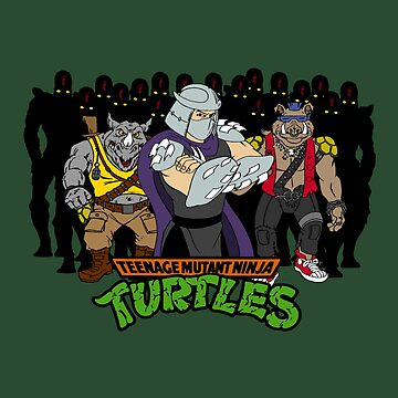 TMNT - Foot Soldiers with Shredder, Bebop & Rocksteady - Teenage Mutant Ninja Turtles by DGArt