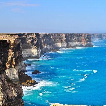 Bunda (Nullarbor) Cliffs - Great Australian Bight by ianb7