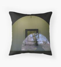 art window Melbourne Throw Pillow