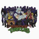 TMNT - Foot Soldiers 02 with Shredder, Bebop & Rocksteady - Teenage Mutant Ninja Turtles by DGArt