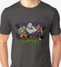 Camiseta ajustada TMNT - Foot Soldiers 02 con Shredder, Bebop & Rocksteady - Tortugas ninja adolescentes mutantes
