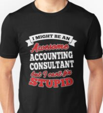 ACCOUNTING CONSULTANT T-shirts, i-Phone Cases, Hoodies, & Merchandises Unisex T-Shirt