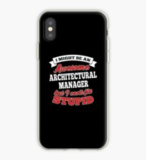 ARCHITECTURAL MANAGER T-shirts, i-Phone Cases, Hoodies, & Merchandises iPhone-Hülle & Cover