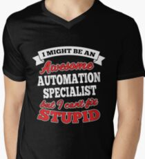 AUTOMATION SPECIALIST T-shirts, i-Phone Cases, Hoodies, & Merchandises Men's V-Neck T-Shirt