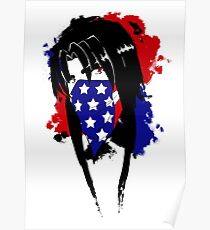 Amy Flag Design Poster