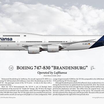 """Boeing 747-830 """"Brandenburg"""" - Lufthansa by nothinguntried"""