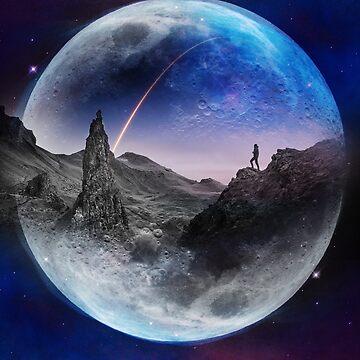 Moon glow by stohitro
