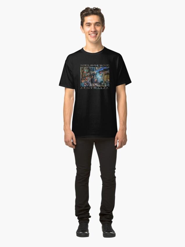 Alternate view of Deckard's Lane (poster on black) Classic T-Shirt