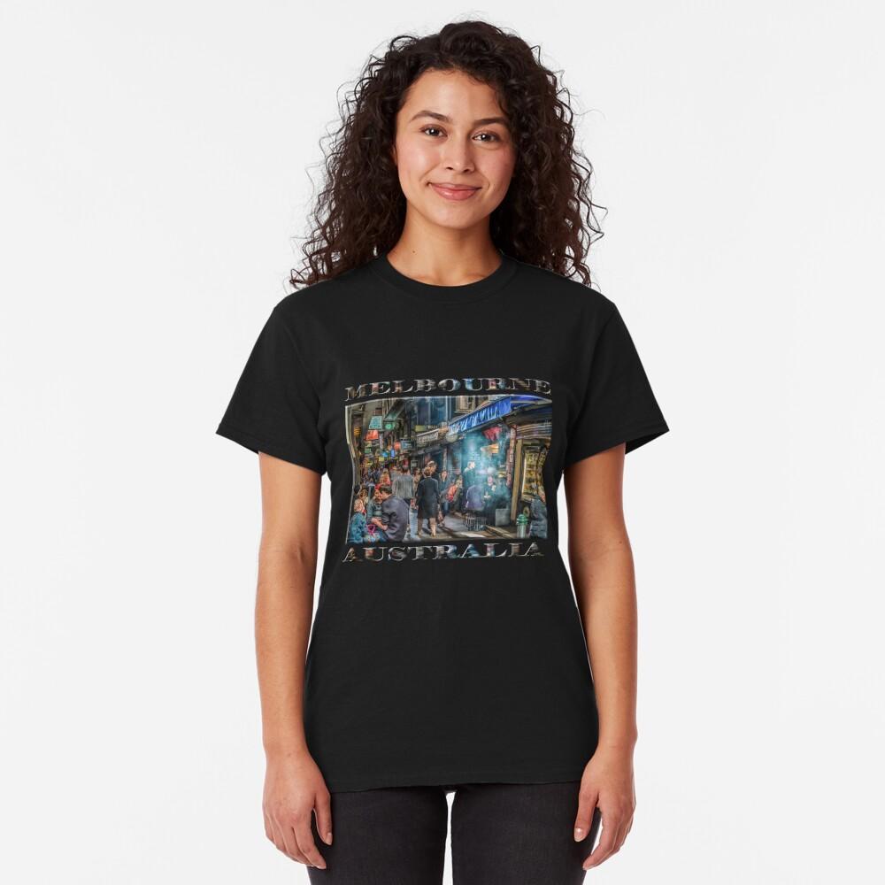 Deckard's Lane (poster on black) Classic T-Shirt