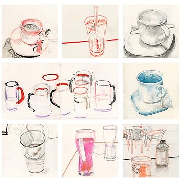 Drinks and cups by DerekBacon