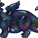 Space Slime Dragon by DelythThomasArt