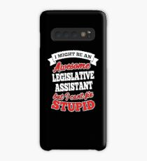 LEGISLATIVE ASSISTANT T-shirts, i-Phone Cases, Hoodies, & Merchandises Case/Skin for Samsung Galaxy
