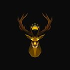 The crowned stag of House Baratheon by Tim-F
