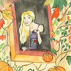 Autumn Lantern by Niina Niskanen
