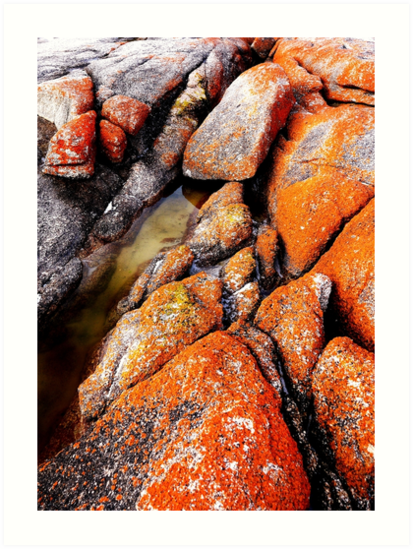 Rock Abstracts of Bay of Fires by Lexa Harpell