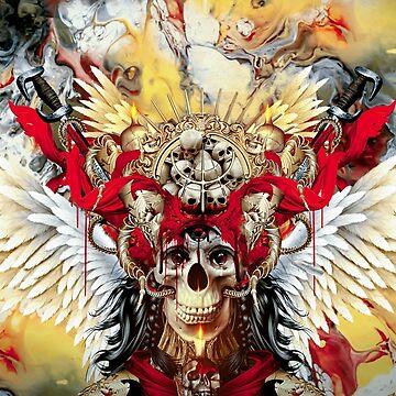 Bloody Skull by rizapeker
