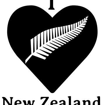 I Love New Zealand by wrightboy62