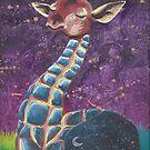 « Girafe stellaire » par Stiopic